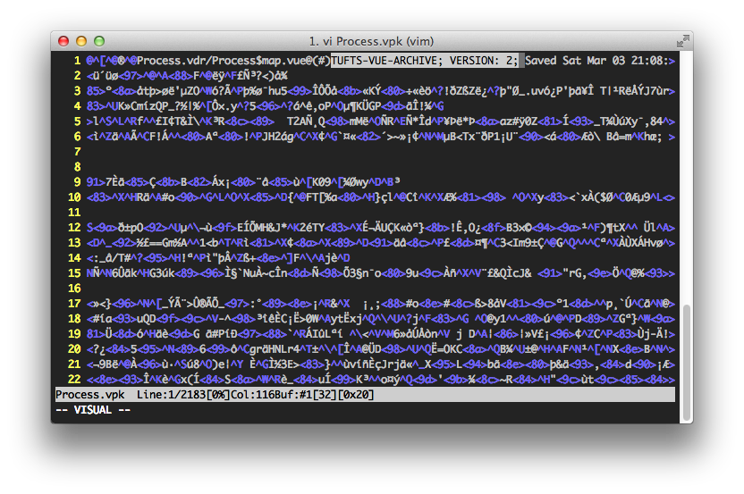 .vpk file header